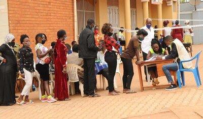 [Translate to English:] General election, 14 January 2021, Kampala © Abby Ramadan