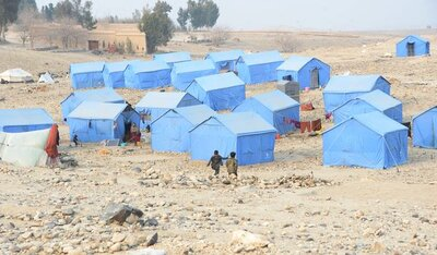Beshud Camp in the north-west of Nangarhar Province. © ADPRO