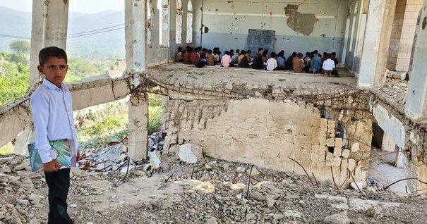 School  in Taiz © Taha Saleh
