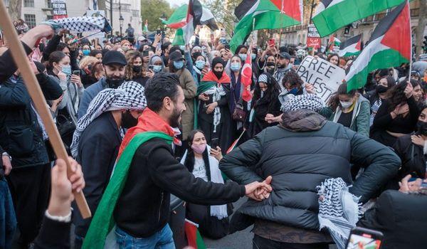 Palästina Demonstration