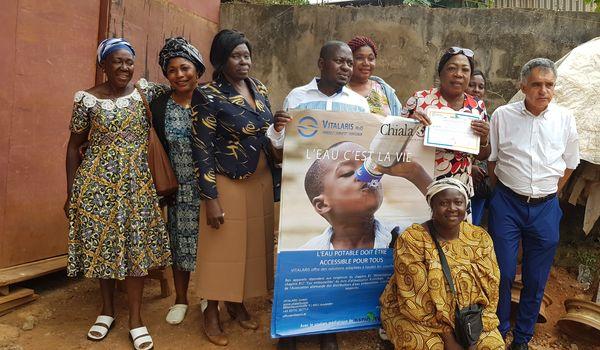 Wasserrevolution in Afrika. Ein Diaspora Projekt von CHIALA und Radio Afrika TV in Kamerun, © Alexis Neuberg/Radio Afrika TV