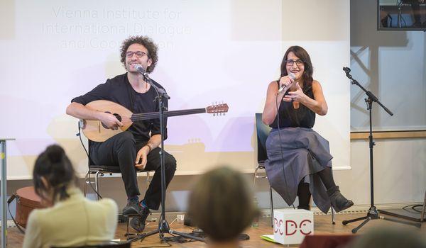 Salah Ammo und  Sakîna Teyna, © Karolin Pernegger