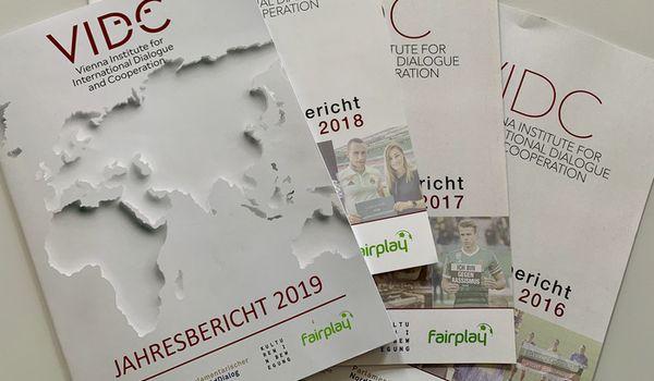 Jahresberichte des VIDC